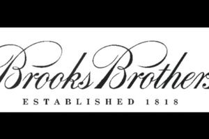 BROOKS  BROTHERS. EST.1818
